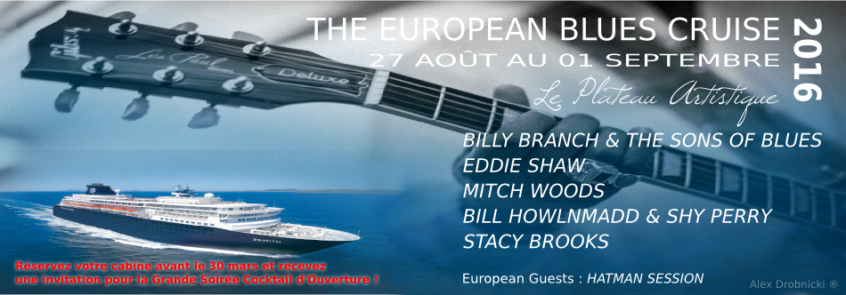 Blues on the Mediterranean @ The European Blues Cruise | Marseille | Provence-Alpes-Côte d'Azur | France